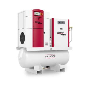 l series oil lubricated compressor