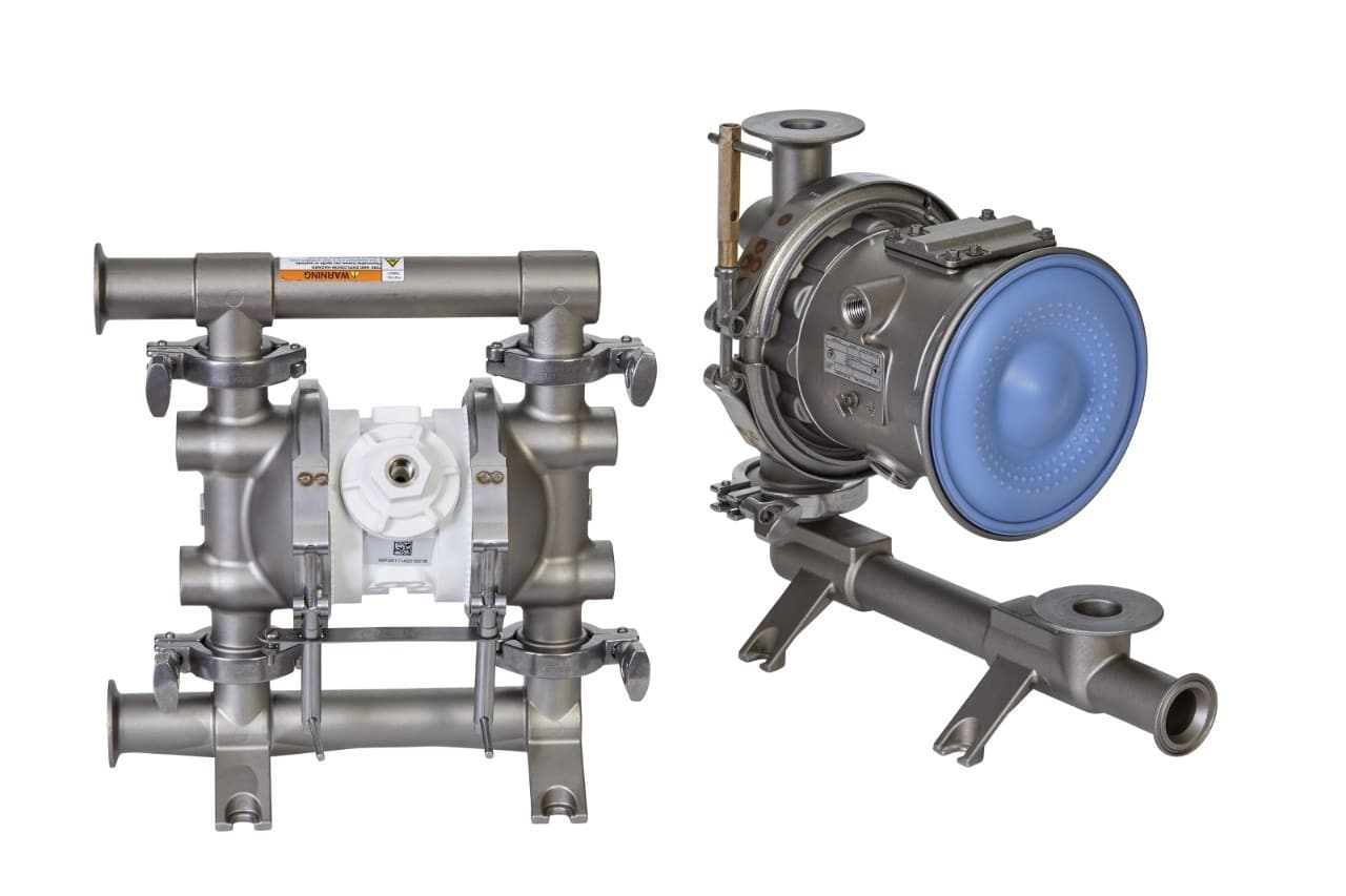 Now at Cullum & Brown: Graco Saniforce Pumps