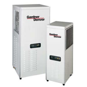 Photo of a refrigerated air dryer.