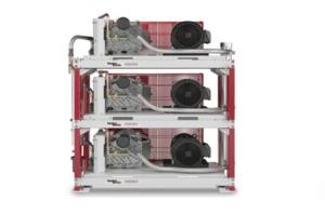 oil-less air compressor scroll